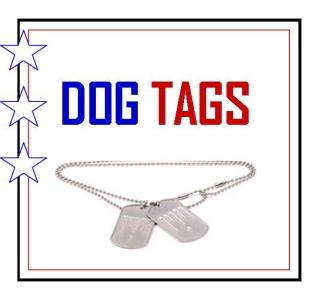 Dog Tags Logo