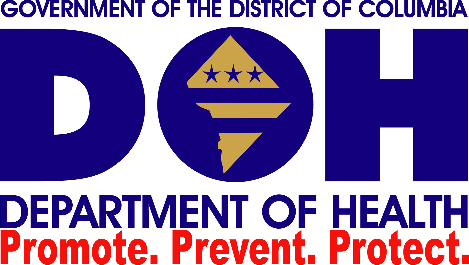 logo for DC Department of Health