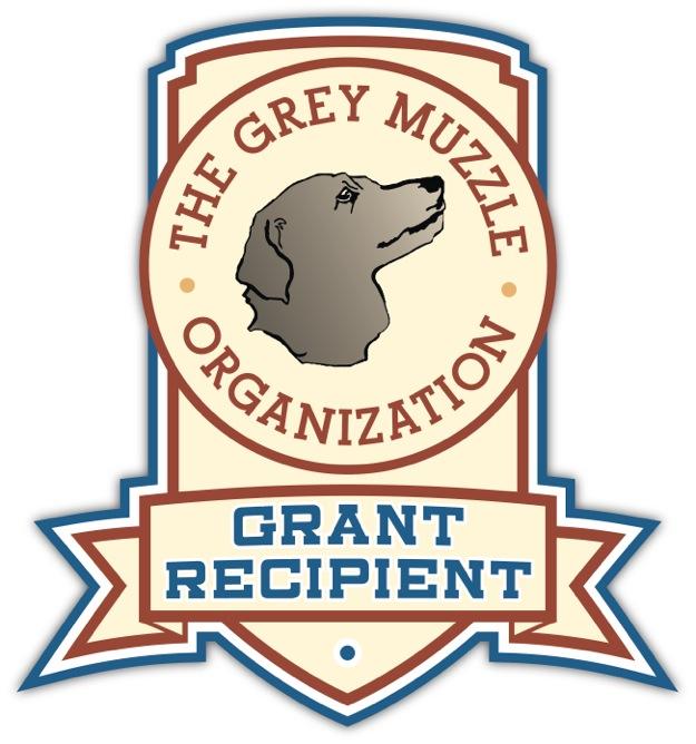Grey Muzzle grant seal 2014