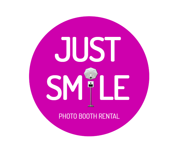 Just Smile Photo Booth Logo