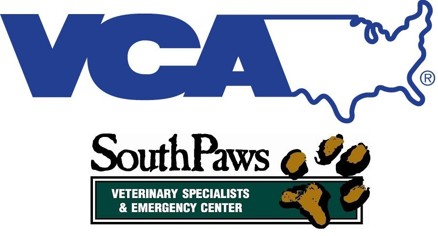 VCA SouthPaws stacked logo 2/19/15