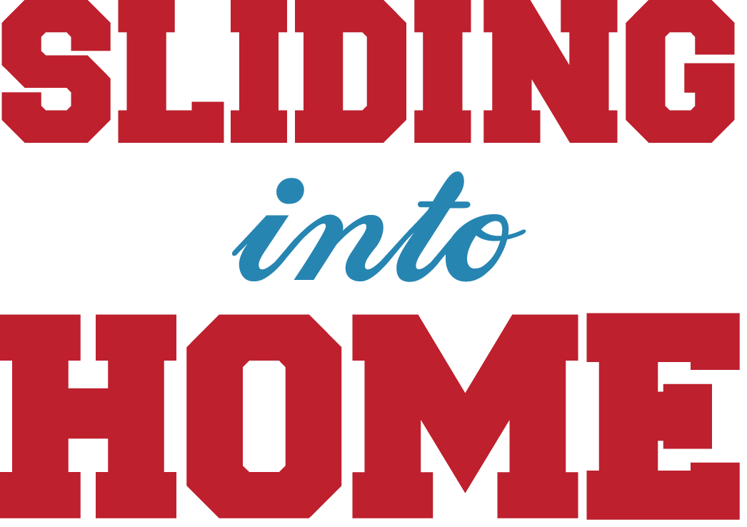 Sliding into Home Logo